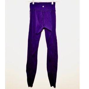 lululemon high waisted leggings size 4
